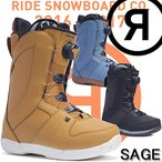 RIDE SAGE 送料無料 スノーボード ブーツ ライド レディース SALE 【送料無料】