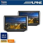 ALPINE 10.1型WXGA シートバック・リアビジョン(2台パック) SXH10T カーテレビ・AVユニット
