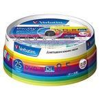 三菱ケミカルメディア データ用 DVD-R DL 8倍速 25枚 インクジェット対応ワイド DHR85HP25V1