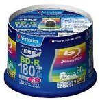 三菱ケミカルメディア 映像用 BD-R 6倍速 50枚 インクジェット対応ワイド VBR130RP50V4