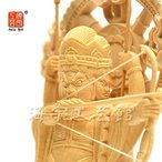 木彫り仏像 守護神摩利支天(まりしてん)立像 桧 立3.5寸