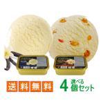 ショッピングアイスクリーム アイガー3種類から選べるニュージーランドアイスクリーム 800ml 4個セット