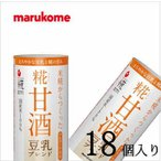 マルコメ プラス糀 甘酒豆乳ブレンド 125ml×18本