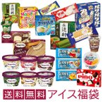 ショッピングアイスクリーム 超お買い得! アイスクリーム福袋 (中身は当店にお任せ)合計40〜50個のアイスクリームが入って送料無料!