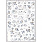 写ネイル ネイルシール Sha-NailPro mood flowers -Classic Blue- MOF-001 送料無料  送料無料 メーカー直送 期日指定・ギフト包装・注文後のキャンセル・返