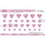 写ネイル ネイルシール Charm Romantic Heart -ShinePink- CH-018p 送料無料  送料無料 メーカー直送 期日指定・ギフト包装・注文後のキャンセル・返品不可
