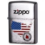 ZIPPO(ジッポー)ライター ハンドペイント アメリカ 200-AMERICA 送料無料  送料無料 メーカー直送 期日指定・ギフト包装・注文後のキャンセル・返品不可 ご注