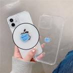 送料無料 iPhoneケース スマホケース インスタ映え コロナ時期 マスク クリアケース 落下防止 衝撃吸収 アイホンケース iphone 11 12 Pro Max