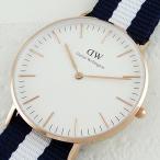 【数量限定】夏のナイロンベルト!ダニエルウェリントン レディース CLASSIC Canterbury 0503DW あすつく 腕時計