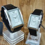 エンポリオアルマーニ ペアウォッチ レザー AR1869AR1871 あすつく 腕時計