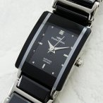 シャルルホーゲル レディース セラミック ブラック CV-9066-3 腕時計