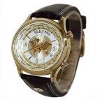 ゴールドファイル メンズ 本革 G21000GC 腕時計