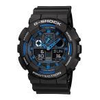 【訳ありボックス アウトレット】Gショック ジーショック 海外モデル 防水 黒 青 ブラック×ブルー あすつく 腕時計