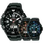 選べる6モデル 国内正規品 シチズン Q&Q キューアンドキュー メンズ 電波ソーラー アナデジ 電池交換不要 時刻調整不要 MD06 あすつく 腕時計
