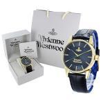 ヴィヴィアン ウエストウッド メンズ フィンズバリー V065NVBK あすつく 腕時計