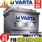 585 200 080 VARTA 欧州車用バッテリー silver dynamic 585200080