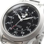 送料無料 腕時計 SEIKO セイコー SNK809K1 海外モデル セイコー5 自動巻き ビジネス カジュアル メンズ