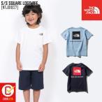 ノースフェイス キッズ Tシャツ S/S SQUARE LOGO TEE 半袖 NTJ81827の画像