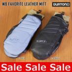 16-17 バートン BURTON レザー  WB FAVORITE LEATHER MITT グローブ 手袋 スノボ レディース