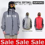 16-17 バートン BURTON CAPITAL SOFTSHELL ジャケット ウェア メンズ スノーボードウェア