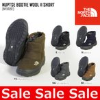 ノースフェイス THE NORTH FACE ヌプシ ブーツ NUPTSE BOOTIE WOOL II SHORT 靴 メンズ レディース NF51592 スノーブーツ ヌプシブーティ
