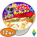 カップ麺 北海道限定 大盛 激めんワンタンメン × 12個 送料無料