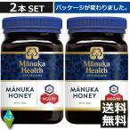 マヌカハニー MGO115+(旧 MGO100) UMF6+(500g)×2本 マヌカヘルス (国内正規輸入品・新ラベル)マヌカ蜂蜜 はちみつ 富永貿易