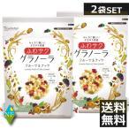 日食 ふわサクフルーツ&ナッツグラノーラ 240g ×2袋 送料無料
