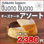 大人気★チーズケーキ専門店【BuonoBuono】から ホールケーキ・アソート 4種類1カット×1箱