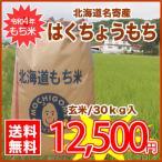 ショッピング日本一 作付け面積日本一★北海道名寄産風連産新米もち米『はくちょうもち』30kg/玄米