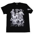 仮面ライダーストロンガ―「デルザー軍団」Tシャツ(ブラック)
