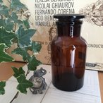 インテリア雑貨 ガラス瓶 ふた付きボトル レトロ おしゃれ 薬瓶 メディシンボトル