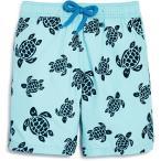 ★ヴィルブレクイン Vilebrequin ボーイ' ジム Flocked Turtles Swim トランクス   Ages 2 8 ボーイ スイムスーツ 水着