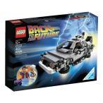 人気レゴ (LEGO) クーソー デロリアン・タイムマシン 21103