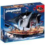 人気Playmobil 6678 黒い帆の海賊船 プレイモービル
