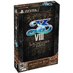 人気イースVIII -Lacrimosa of DANA- プレミアムBOX【初回限定特典】オリジナルサウンドトラックmini付 - PS Vita