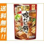 【送料無料】キッコーマン 贅沢だしがおいしい 鴨だし鍋つゆ 750gパウチ×12本入