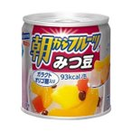 【送料無料】はごろもフーズ 朝からフルーツ みつ豆 190g缶×24個入