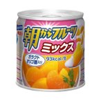 送料無料 【2ケースセット】はごろもフーズ 朝からフルーツ ミックス 190g缶×24個入×(2ケース)