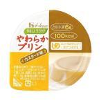 送料無料 【2ケースセット】ハウス食品 やさしくラクケア やわらかプリン カスタード味 63g×48(12×4)個入×(2ケース)
