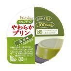 送料無料 【2ケースセット】ハウス食品 やさしくラクケア やわらかプリン 抹茶味 63g×48(12×4)個入×(2ケース)