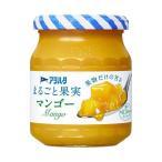 送料無料 【2ケースセット】アヲハタ まるごと果実 マンゴー 250g瓶×6個入×(2ケース)