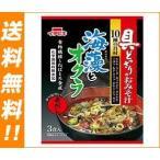 【送料無料】イチビキ 具どっさりのおみそ汁 海藻とオクラ 赤だし 3食×10袋入