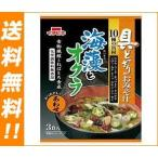 【送料無料】イチビキ 具どっさりのおみそ汁 海藻とオクラ あわせ 3食×10袋入