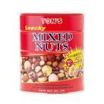 送料無料 【2ケースセット】東洋ナッツ食品 トン スナッキー ミックスナッツ 650g缶×6個入×(2ケース)
