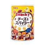 送料無料 【2ケースセット】東洋ナッツ食品 トン チーズ&スパイシー 300g缶×12個入×(2ケース)