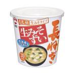 【送料無料】【2ケースセット】旭松食品 カップ生みそずい 合わせ長ねぎ 14.9g×6個入×(...