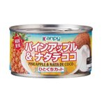 送料無料 【2ケースセット】カンピー パイン&ナタデココ 225g缶×24個入×(2ケース)