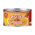 送料無料 カンピー マンゴー ひとくちカット 225g缶×24個入