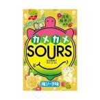 送料無料 ノーベル製菓 カメカメサワーズ(SOURS) 梅ソーダ味 45g×6個入